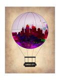 Kansas Air Balloon Posters by  NaxArt
