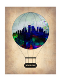 New Orleans Air Balloon Prints by  NaxArt