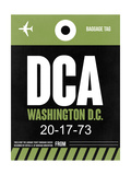 DCA Washington Luggage Tag 2 Posters by  NaxArt