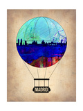 Madrid Air Balloon Prints by  NaxArt