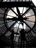 Musee d'Orsay's Clock Window, Paris, France Poster by Lisa S. Engelbrecht