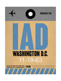 IAD Washington Luggage Tag 1 Prints by  NaxArt