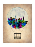 Munich Air Balloon Prints by  NaxArt