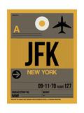 JFK New York Luggage Tag 3 Reprodukcje autor NaxArt