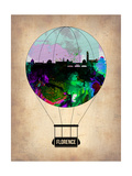 Florence Air Balloon Posters by  NaxArt