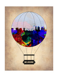 Melbourne Air Balloon Posters by  NaxArt