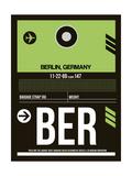 NaxArt - BER Berlin Luggage Tag 2 - Reprodüksiyon
