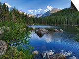 Hdr, Digital Composite, Bear Lake, Rocky Mountain National Park, Colorado, Usa Posters by Rick A. Brown