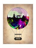 Kyoto Air Balloon Prints by  NaxArt