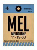MEL Melbourne Luggage Tag 1 Posters by  NaxArt