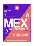MEX Mexico City Luggage Tag 1 Posters by  NaxArt