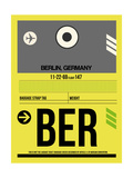 BER Berlin Luggage Tag 1 Posters by  NaxArt