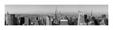 Manhattan Skyline Poster by Tetra Studio