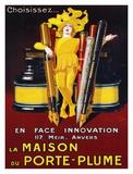 La Maison du Porte-Plume, 1924 Print by Jean D'Ylen