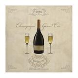 Champagne Grand Cru Print by Sandro Ferrari
