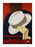 Chapeaux Mossant, 1928 Prints by  Olsky