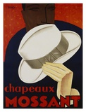 Chapeaux Mossant, 1928 Posters by  Olsky
