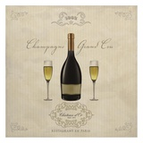 Champagne Grand Cru Prints by Sandro Ferrari
