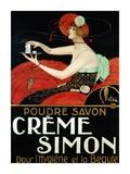 Creme Simon, ca. 1925 Art by  Vila