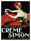 Creme Simon, ca. 1925 Posters by  Vila