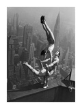 Acrobats Performing on the Empire State Building, 1934 Reprodukce
