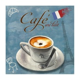 Cafe au lait Prints by Skip Teller