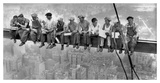 New York Construction Workers Lunching on a Crossbeam, 1932 Pósters por Charles C. Ebbets