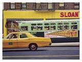 Sloan's Plakater av Richard Estes