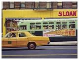 Sloan's Plakaty autor Richard Estes