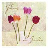 Fleurs du Jardin Prints by Remy Dellal