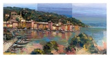 Portofino d'estate Art by Luigi Florio