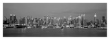 Manhattan Skyline, NYC Poster by Richard Berenholtz