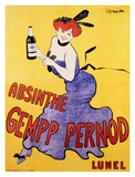 Absinthe Gempp Pernod, 1903 Prints by Leonetto Cappiello