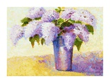 Brient's Lilacs I Posters by Gail Wells