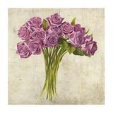 Bouquet de Roses Poster by Leonardo Sanna