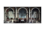 Feast in the House of Levi Kunstdrucke von Paolo Veronese