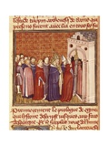 Louis IX, St. Louis, of France on His Coronation Day, 1226 Prints