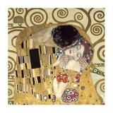 The Kiss Prints by Gustav Klimt