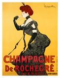 Champagne de Rochegre, ca. 1902 Print by Leonetto Cappiello