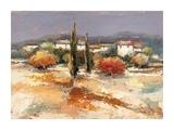 Borgo nel sole Print by Luigi Florio