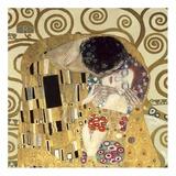 Der Kuss Kunstdrucke von Gustav Klimt