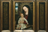 Virgin and Child Holding a Pear Posters by Rogier van der Weyden