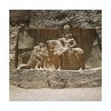 Roman Emperor Valerian Surrenders to Persian King Shapur I, Battle of Edessa, 259 Art