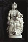 Madonna of Bruges Photo by  Michelangelo Buonarroti