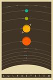 The Solar System Plakaty