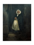 The Old Doorwoman Prints by Honore Daumier