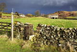 Stile in a Dry Stone Wall at Storiths, North Yorkshire, Yorkshire, England, United Kingdom, Europe Photographic Print by Mark Sunderland