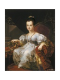 Isabella II as a Child Giclee Print by Vicente Lopez y Portana