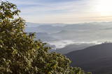 Looking Down into the Dalhousie and the Hill Country Beyond at Sunrise from Adam's Peak (Sri Pada) Photographic Print by Charlie Harding