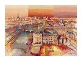 Sognando Parigi Print by Luigi Florio